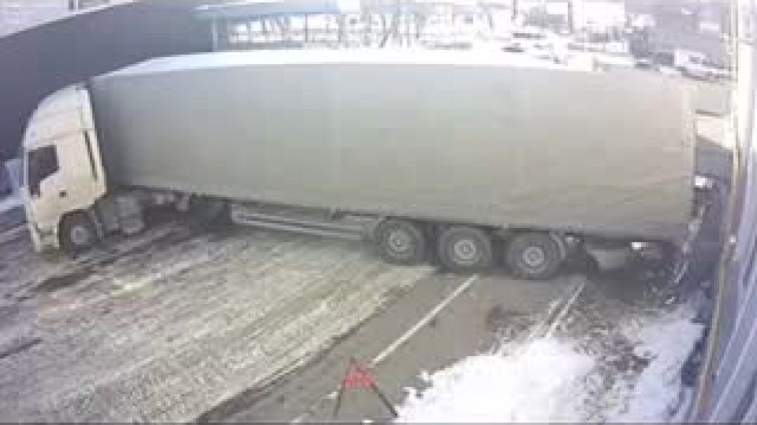 Man Saves Friend From Being Crushed By Truck