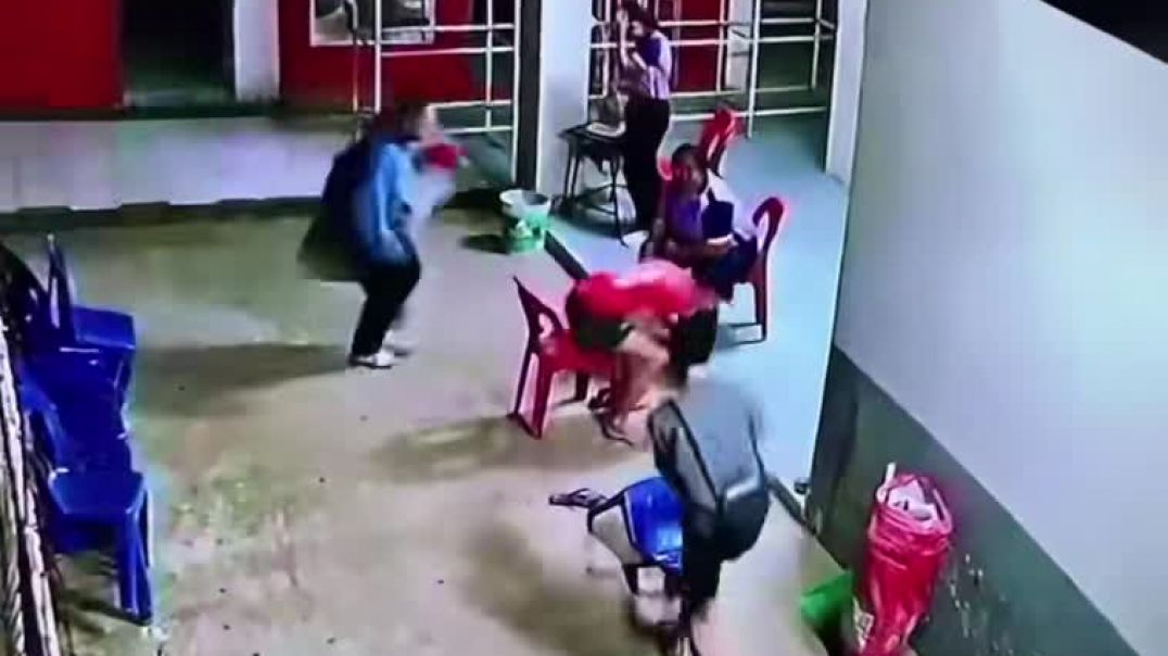 Man Fall From Chair